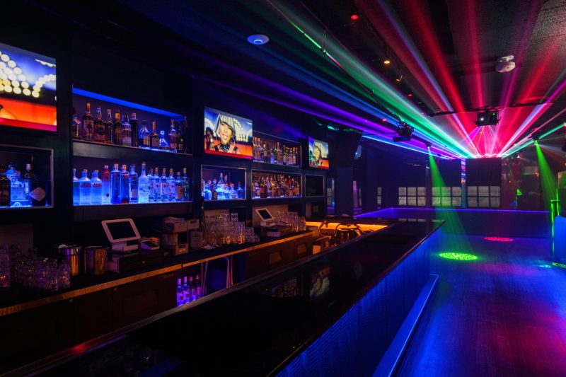 Our Upstairs Bar And Dancefloor