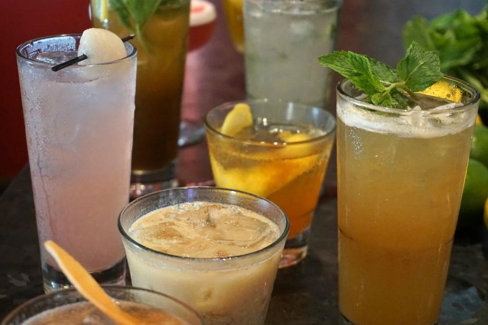 Assorted Cocktails at Raven Bar