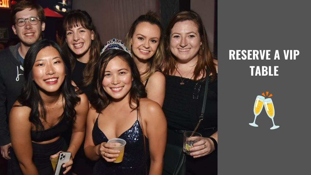 Reserve a VIP Table at Club Raven, This Weekend